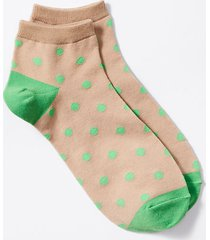 loft dotted ankle socks
