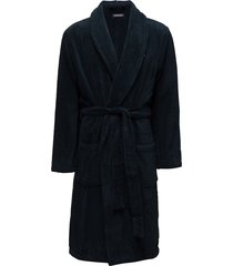 icon bathrobe accessories night & loungewear robes blå tommy hilfiger