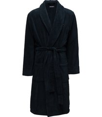 icon bathrobe morgonrock badrock blå tommy hilfiger