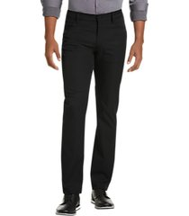 awearness kenneth cole black slim fit casual pants