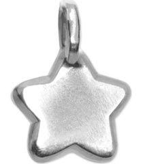 alex woo mini-star pendant in sterling silver