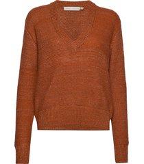 oridaiw pullover gebreide trui oranje inwear