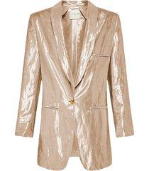 forte forte lurex linen viscose jacket