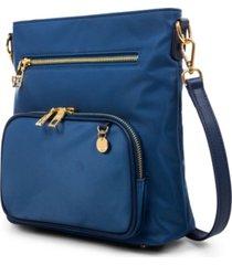 women's crossbody bag with trims