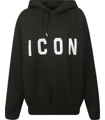 icon hooded sweatshirt dsquared2