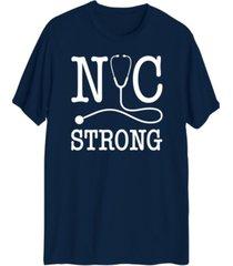 hybrid men's nyc strong short sleeve t-shirt