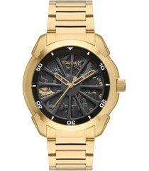 relógio touch unissex pira dourado twy121e6ar/4p twy121e6ar/4p