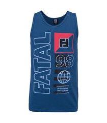 camiseta regata fatal estampada 25677 - masculina