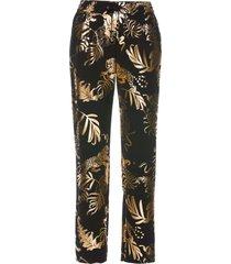 pantaloni in fantasia lucida (nero) - bpc selection