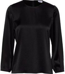 delphi blouse blouse lange mouwen zwart filippa k