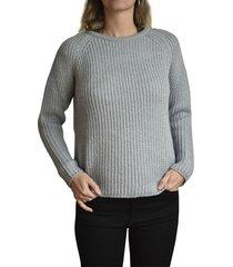 sweater gris claro brooksfield denise