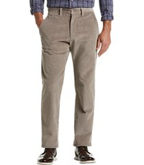 joseph abboud khaki corduroy modern fit casual pants