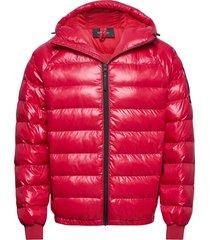 m tomic jacket the alpine gevoerd jack rood peak performance