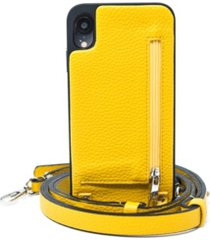 hera cases crossbody xr iphone case with strap wallet