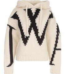 j.w. anderson jwa chunky hoodie