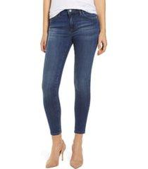 mavi jeans adriana skinny jeans, size 32 28 in indigo supersoft at nordstrom
