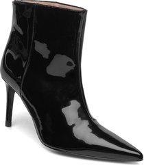abbysa shoes boots ankle boots ankle boots with heel svart custommade