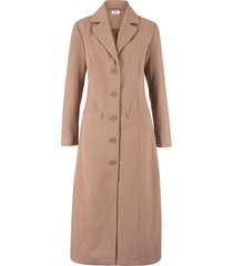 cappotto lungo in simil lana (marrone) - bpc bonprix collection
