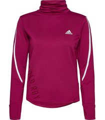cold.rdy cover-up w sweat-shirt trui rood adidas performance