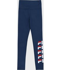 leggings azul-rojo-blanco fila
