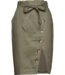 stambecco knälång kjol grön fall winter spring summer