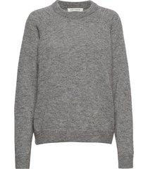 blouse gebreide trui grijs sofie schnoor