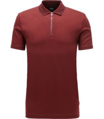 boss men's paras 03 regular-fit polo shirt