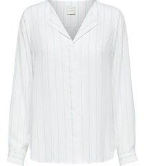 overhemd met lange mouwen gestreept -