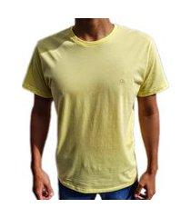 camiseta básica ogochi slim amarela 006000001