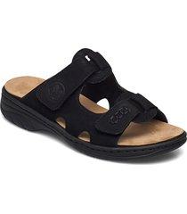 64598-00 shoes summer shoes flat sandals svart rieker