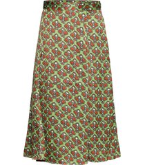 day habitat knälång kjol grön day birger et mikkelsen