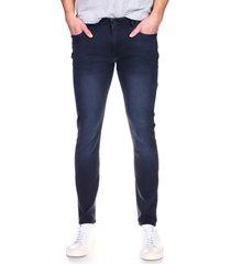 men's dl1961 cooper slim tapered leg jeans, size 33 x r - blue
