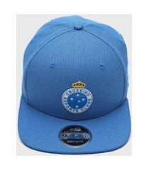 boné new era of sn futebol diamond cruzeiro azul