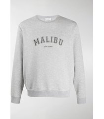 saint laurent malibu logo sweatshirt