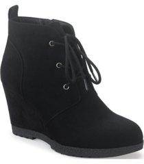 sun + stone kiraa booties, created for macy's women's shoes