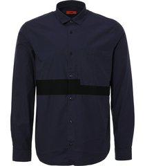 hugo boss navy elever shirt 50388242-413