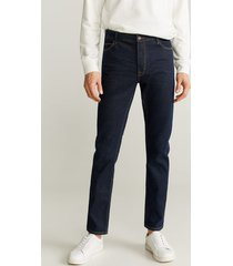 tim slim-fit jeans met soft wassing