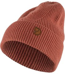 fjallraven directional ribbed beanie