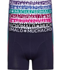 1010 solid hello moonlight 7pk boxer boxershorts multi/patroon muchachomalo