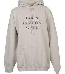 balenciaga paris fashion week hoodie