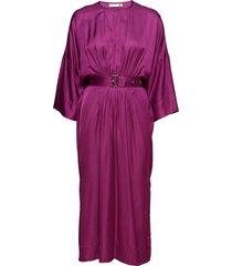 hattie dress jurk knielengte paars inwear