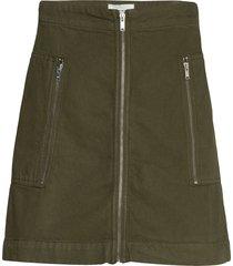 annika skirt kort kjol grön wood wood