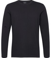 longsleeve tee in heavy organic cotton t-shirts long-sleeved svart scotch & soda
