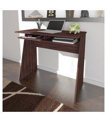 mesa escrivaninha artany kiev home office 1 prateleira