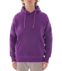 c17 hooded sweatshirt - purple - swtf002