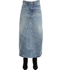 saint laurent long skirt