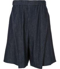 yoshiokubo oversized shorts - blue