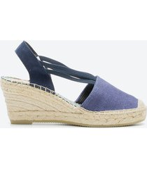 zapato casual mujer freeport z1c4 azul