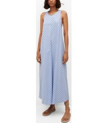 mango women's bow cotton dress