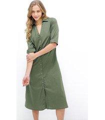 vestido 07952 color-verde-talla-l